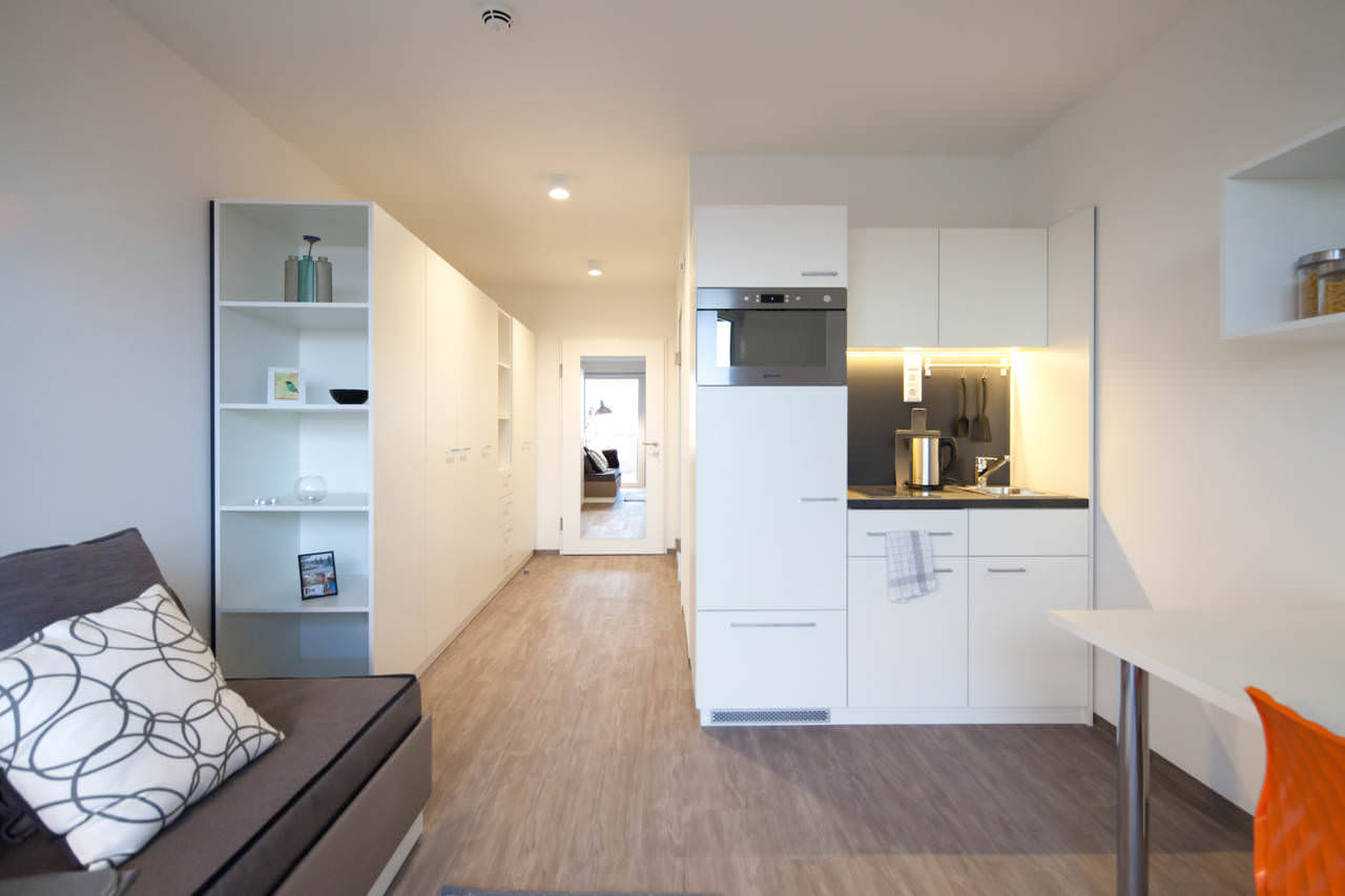 Linked living vienna student rooms for Designer apartment vienna