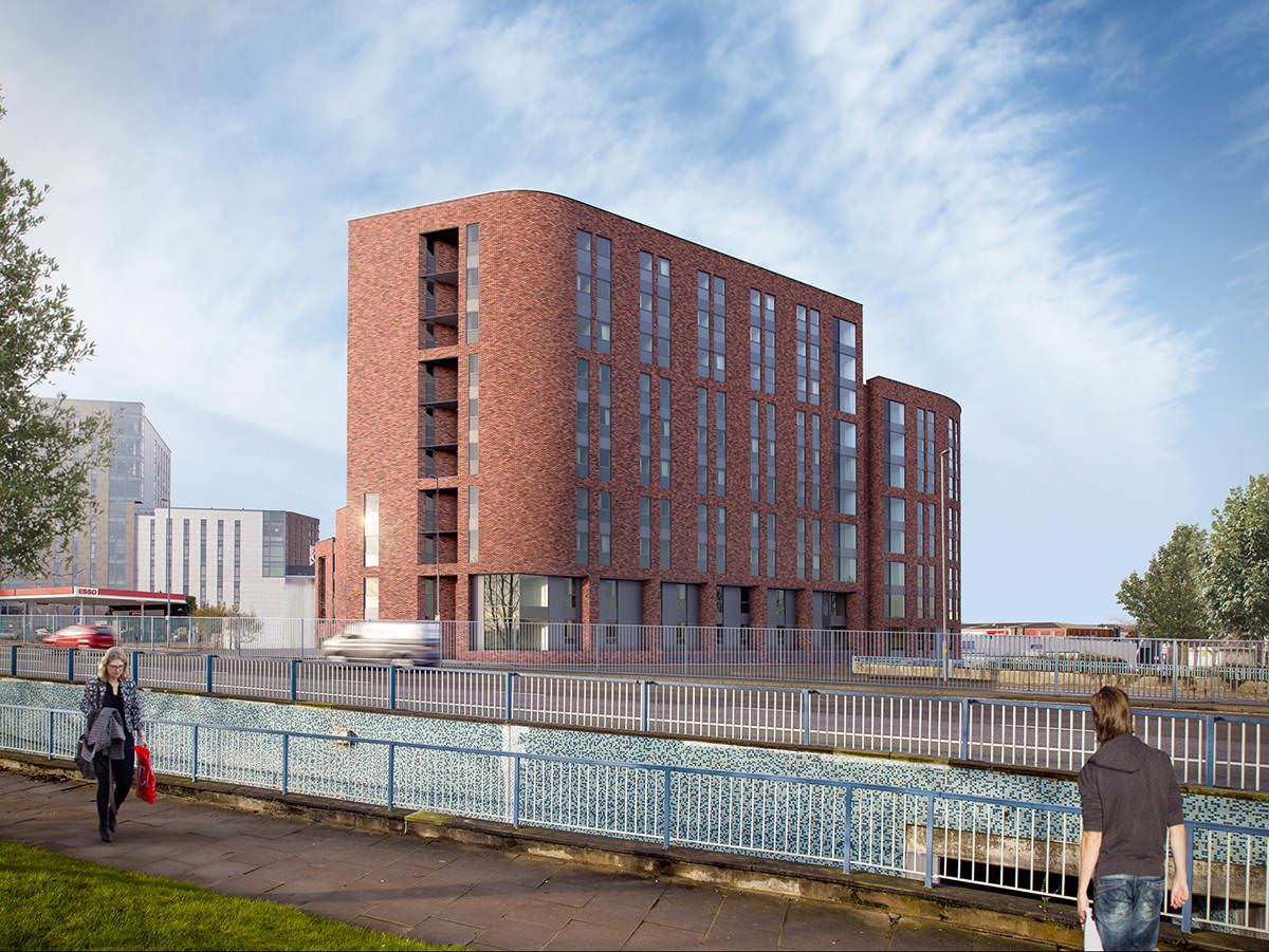 Bentley house student accommodation for Craft stores birmingham al