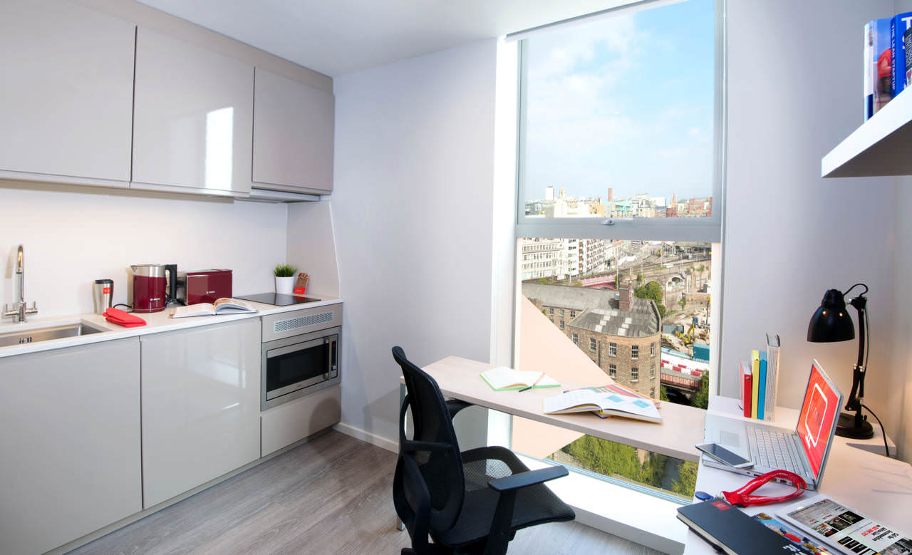 vita student first street manchester student housing. Black Bedroom Furniture Sets. Home Design Ideas