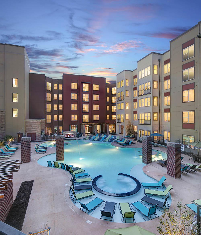 The Lofts At City Center Tuscaloosa Student Accommodation