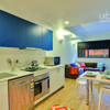 urbanest Sydney Central single ensuite 6 person apartment kitchen