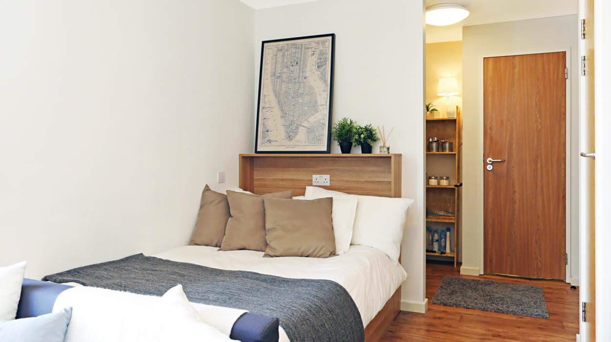 iq raffles house london student housing. Black Bedroom Furniture Sets. Home Design Ideas